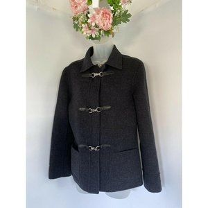 Alexandra Bartlett 100% Handmade Wool Gray Silver